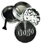 Gogo Crusher 4pc Grinder Silver