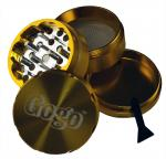Gogo Crusher 4pc Grinder Gold