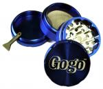 Gogo Crusher 4pc Grinder Blue