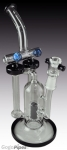 Blue Beaded Recycler