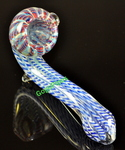 Checker Sherlock Glass Pipe