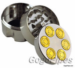 Metal Herb Grinder with 3 part