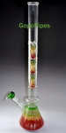 Quad Perc Mushroom Glass Water Pipes