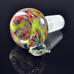 Rasta Swirl Bowl 18mm