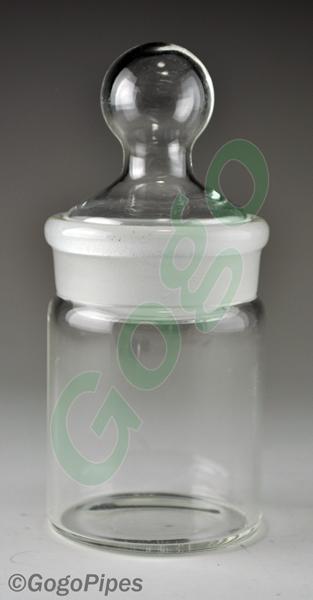 Medium Glass Jar Gj107 Gogopipes Com