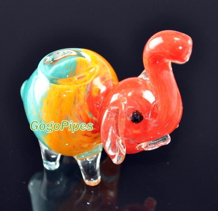Elephant Pipe Rasta Elephant Glass Pipes Gogopipes Com