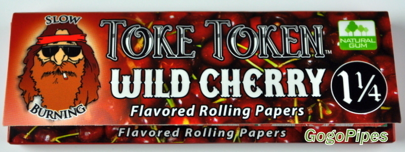Wild Cherry Flavor Rolling Paper By Gogopipes Com