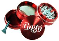 Gogo Crusher 4 pc Grinder Red