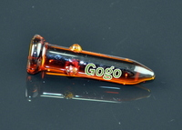Glass Nail 18mm Amber