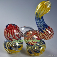 Crazy glass bubblers