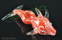Glass Dolphin pipe