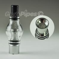 Glass Vapor Dome with Screen