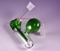 Inline Ashcatcher 18mm Green