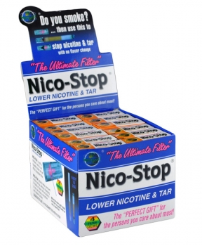 Nico-Stop Box of 30 Disposable Filters
