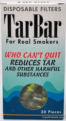 TarBar Disposable Filters 30 EA