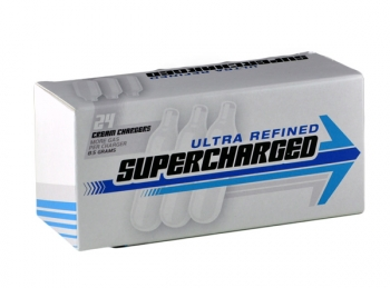 SuperCharged Whipped Cream Charger